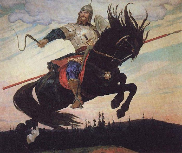 Рис. 4. «Богатырский скок». Виктор Васнецов. 1914 год