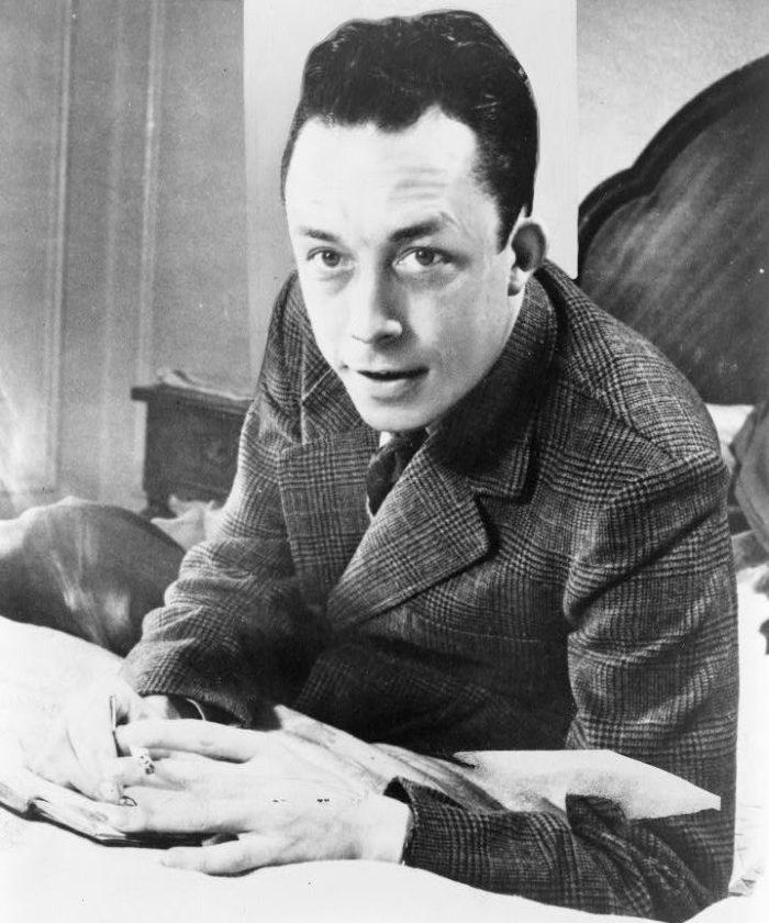 Рис. 4. Альбер Камю в 1957 году