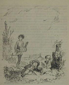 Рис. 4. Вася, Валек и Маруся. Иллюстрация Н. Кустова