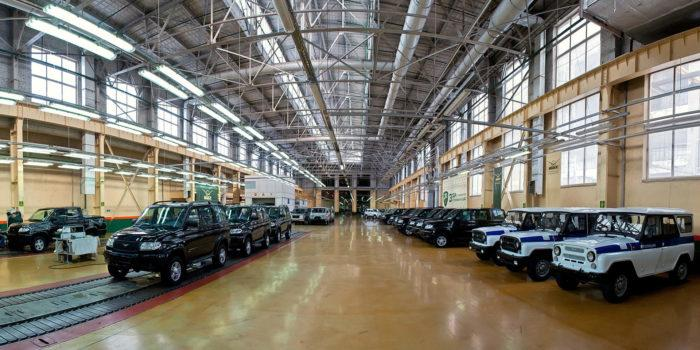 Рис. 4. Завод УАЗ в Ульяновске