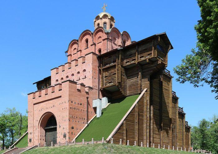 Рис. 4. Золотые ворота. Киев