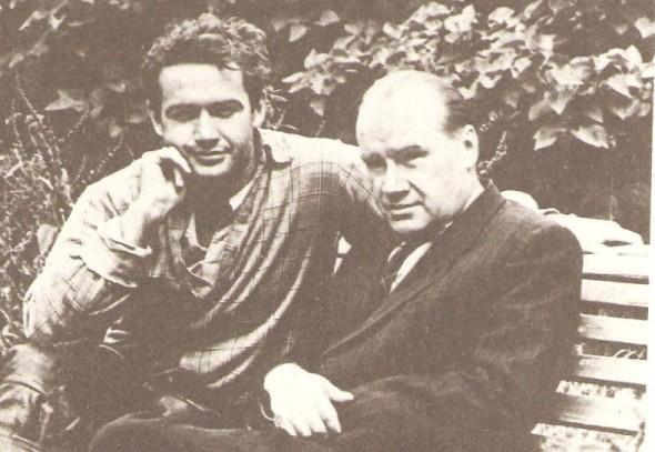 Рис. 2. Николай Носов с сыном