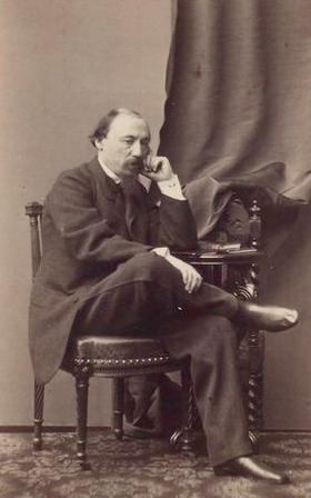 Рис. 4. Н. А. Некрасов. 1865 год