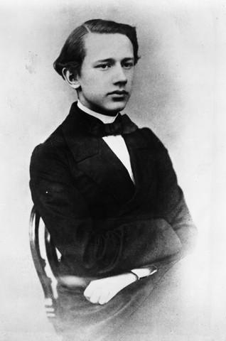 Рис. 6. П. Чайковский, нач. 1860-х годов