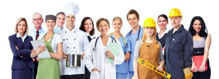 Рис. 4. Работники сферы услуг
