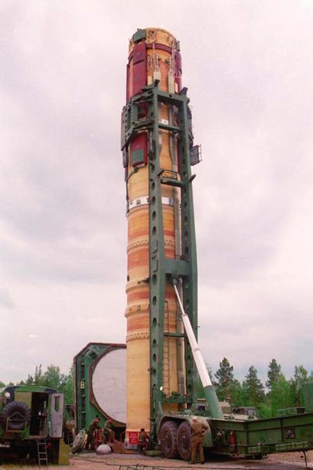 Рис. 4. Ракета Р-36М Сатана