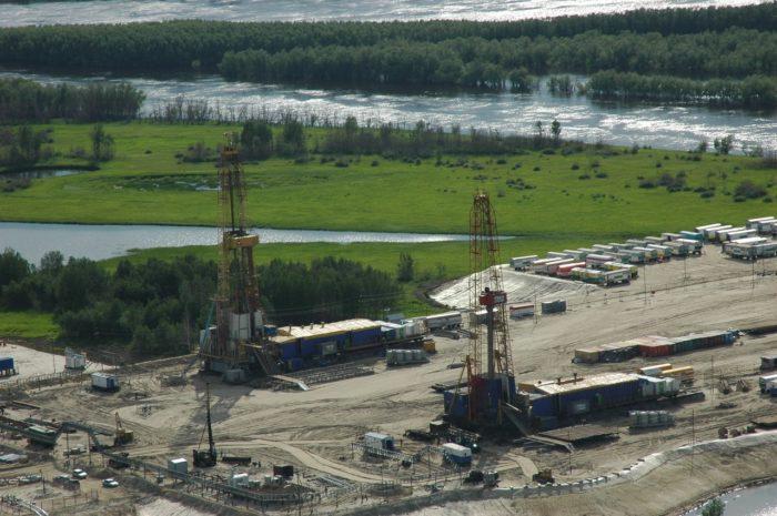 Рис. 4. Самотлорское месторождение нефти