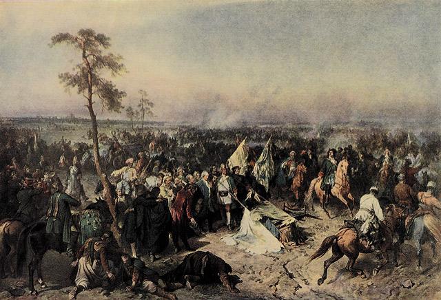 Рис. 5. «Полтавская битва». А. Е. Коцебу
