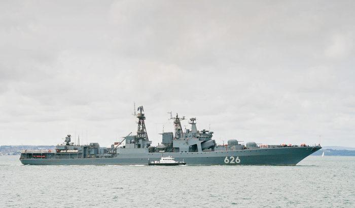 Рис. 4. Большие противолодочные корабли проекта 1155 «Фрегат»