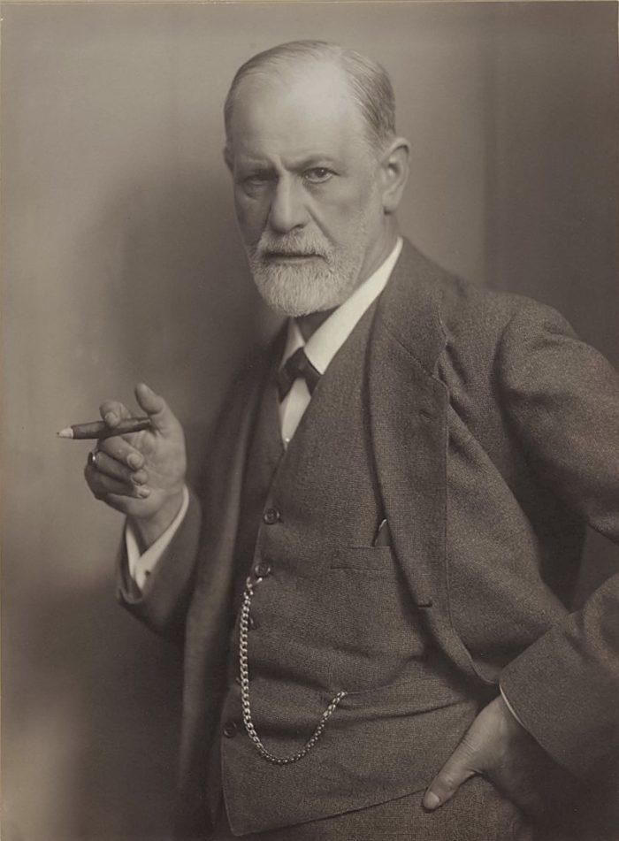 Рис. 5. Зигмунд Фрейд на обложке журнала Life. Макс Хальберштадт. 1922 год