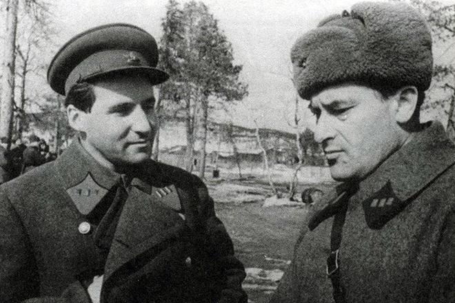 Рис. 5. Константин Симонов на войне