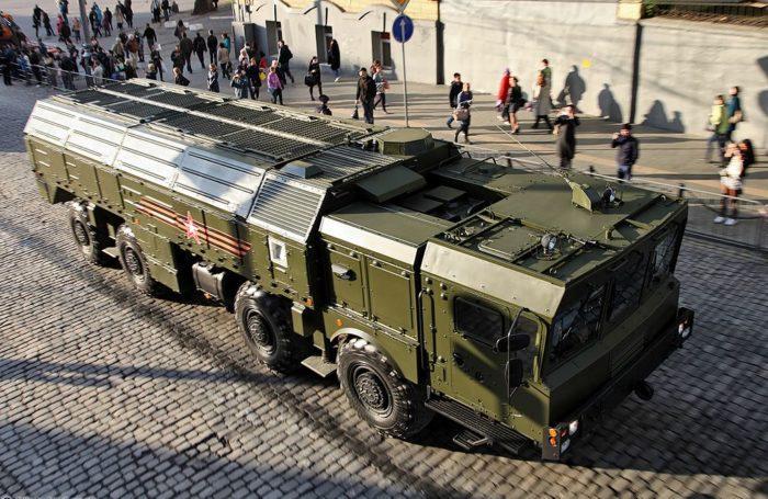 Рис. 5. Пусковая установка комплекса «Искандер-М» в транспортном положении