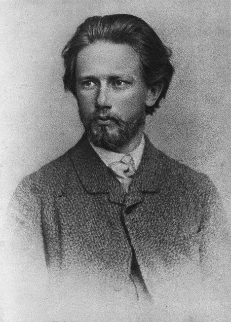 Рис. 4. П. Чайковский, конец 1860-х годов