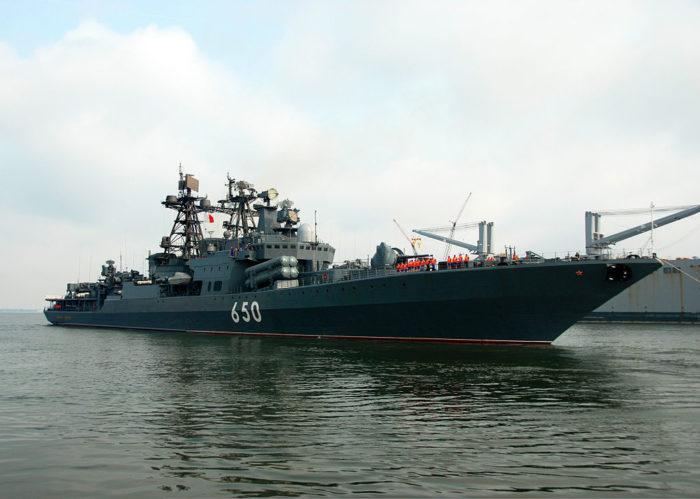 Рис. 5. Большие противолодочные корабли проекта 1155.1