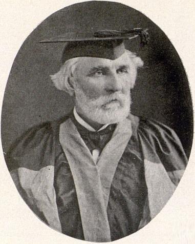 Рис. 6. И. С. Тургенев - почетный доктор Оксфордского университета. Фото А. Либера. 1879 год