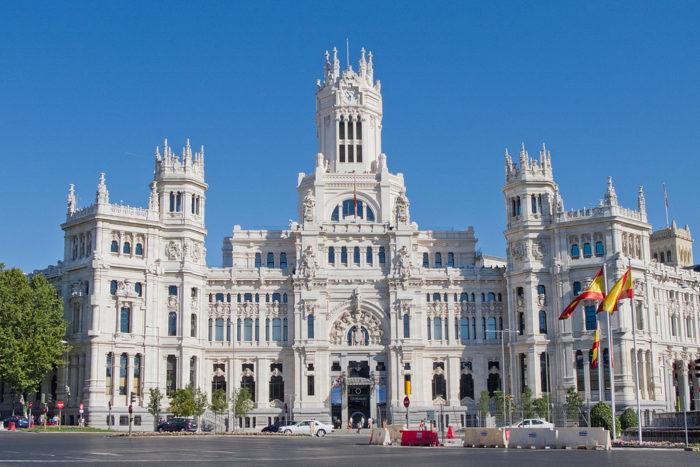 Рис. 7. Дворец связи в Мадриде