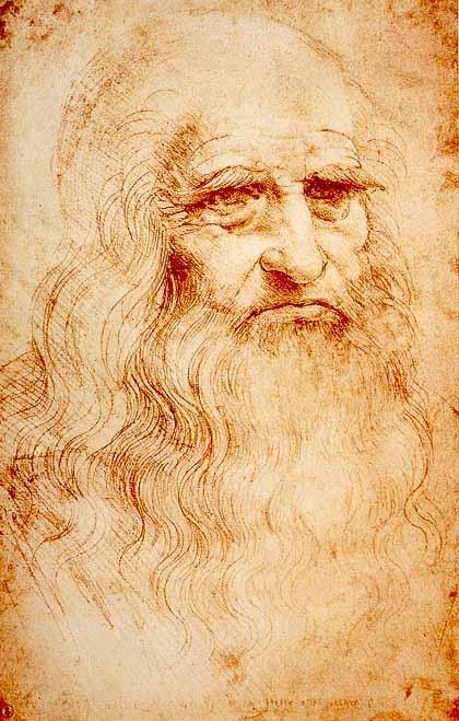 Рис. 7. Предполагаемый автопортрет Леонардо да Винчи