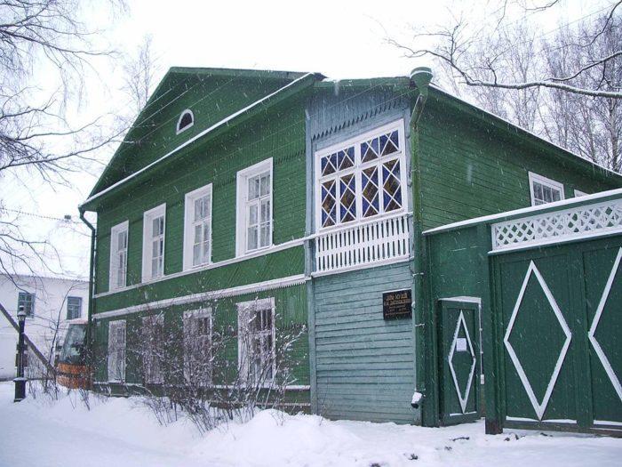 Рис. 8. Дом-музей писателя в Старой Руссе