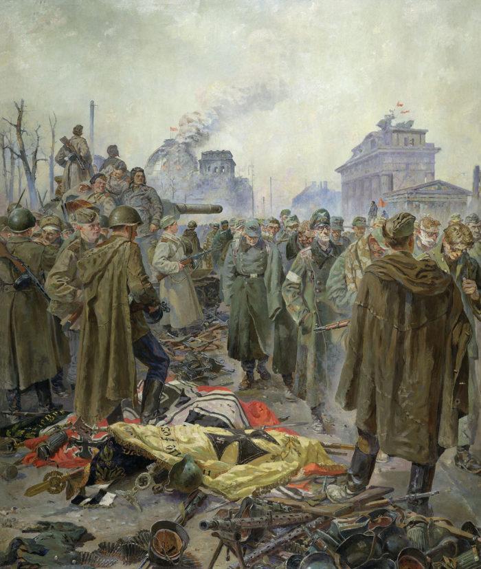 Рис. 8. Капитуляция. Автор П. А. Кривоногов