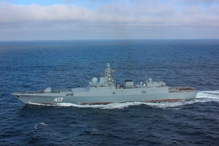 Рис. 7. Фрегаты проекта 22350 типа «Адмирал Горшков»