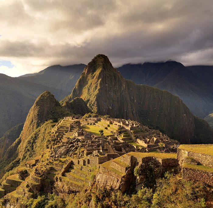 Рис. 9. Гора Мачу-Пикчу. Перу