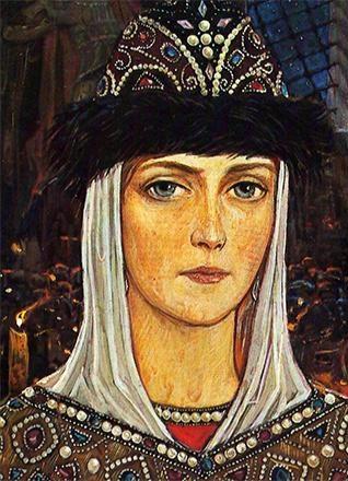 Рис. 3. Евдокия Дмитриевна, жена Дмитрия Донского