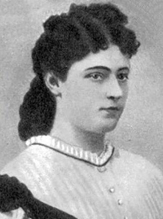 Рис. 4. Жена Михаила Салтыкова-Щедрина - Елизавета