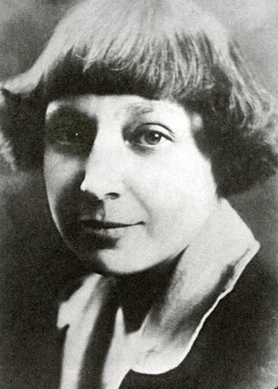 Рис. 1. Марина Ивановна Цветаева. П. Шумов. 1925 год