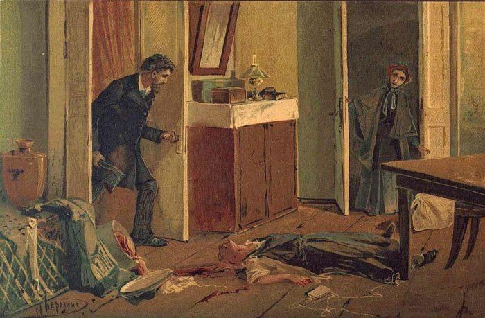 Рис. 4. Иллюстрация к «Преступлению и наказанию». Н. Н. Каразин