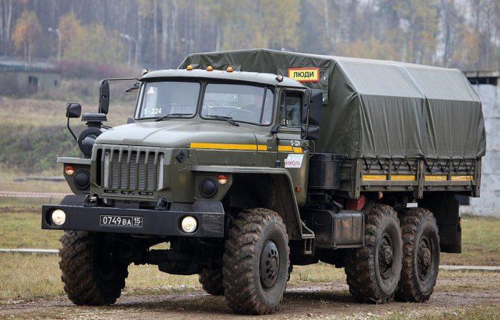 Рис. 5. Урал-4320