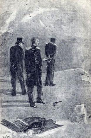 Рис. 6. Дуэль. М. А. Врубель. 1891 год