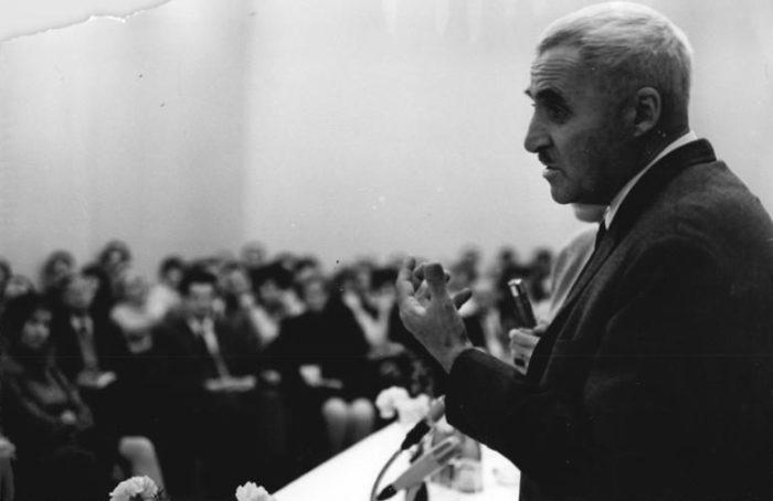 Рис. 7. К. Симонов в Берлине. 1967 год